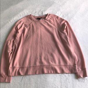 sweatshirt with side slit
